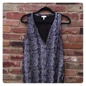 Joie Sleeveless 100% silk blouse
